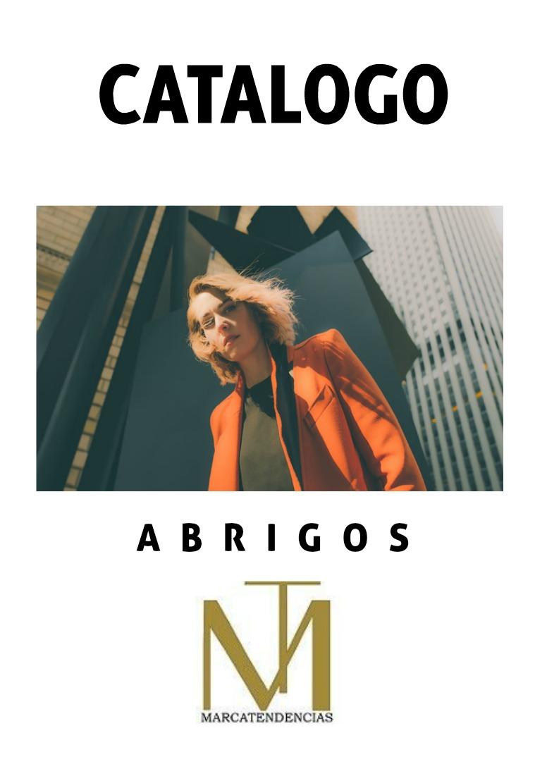 CATALOGO ABRIGOS MARCATENDENCIAS catalogo de abrigos