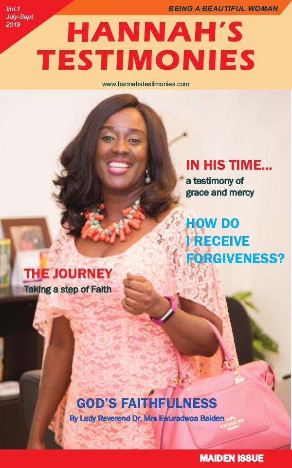 Hannah's Testimony Magazine hannahs testimony magazine