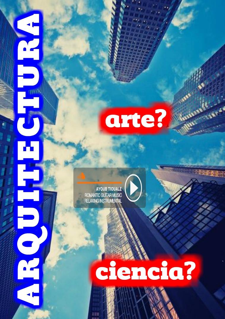 ARQUITECTURA MI PRIMERA PUBLICACION