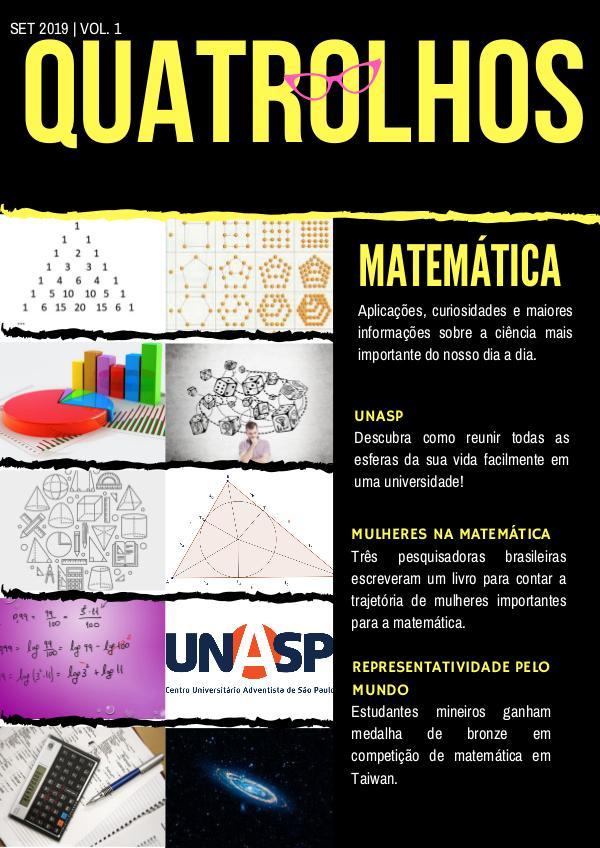 Quatrolhos - a revista de matemática mais querida do Brasil Volume 1