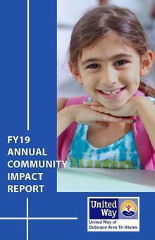 United Way of Dubuque Area Tri-States 2018 Community Impact Report