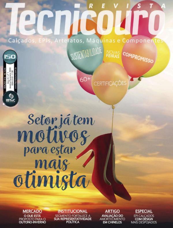 Revista Tecnicouro - Edição 313: comepleta Ed. 316 - completa (Jan/Fev) – 2020