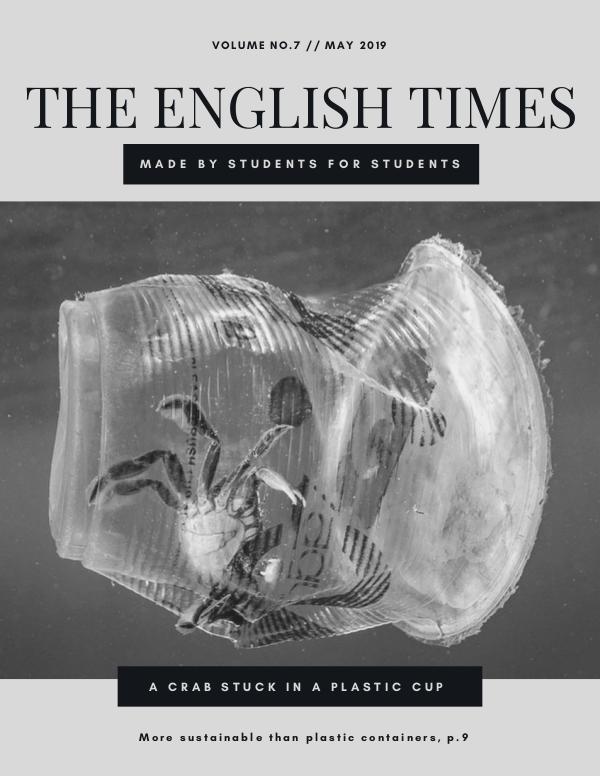 May 2019 - The English Times May Newspaper