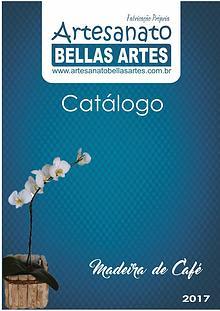 Catálogo Peças de Madeira de Café!
