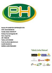 PH Alimentos e Distribuição Ltda