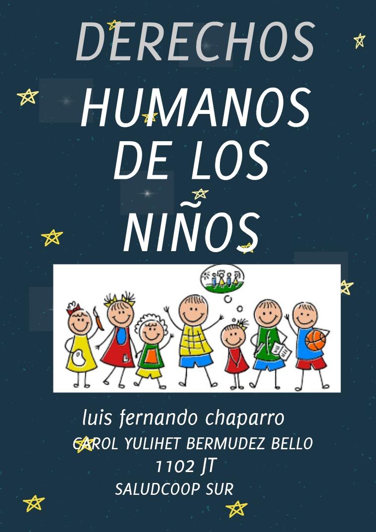 derechos humanos DERECHOS HUMANOS DE LOS NIÑOS