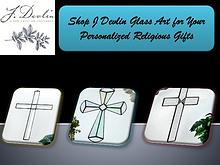 Shop J Devlin Glass Art for Your Personalized Religious Gifts