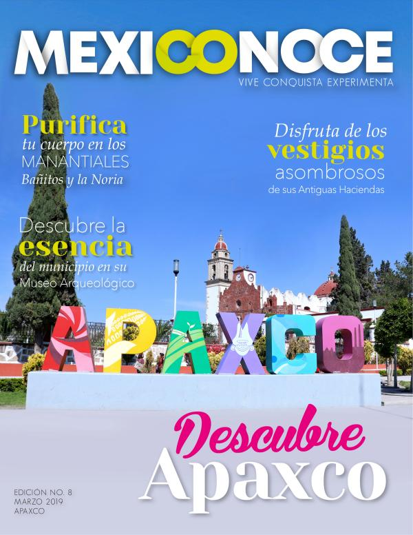 Revista Mexiconoce revista APAXCO joo
