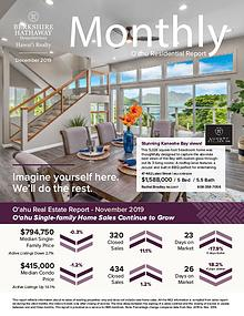 Monthly Oʻahu Residential Report