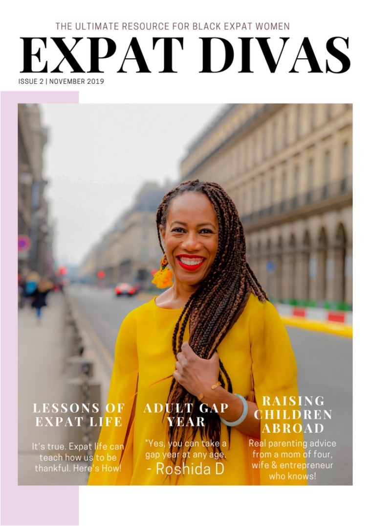 Expat Divas Magazine Gratitude Issue November 2019