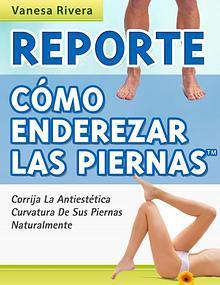 Vanesa Rivera: Como Enderezar Las Piernas PDF / Libro Gratis Descarga