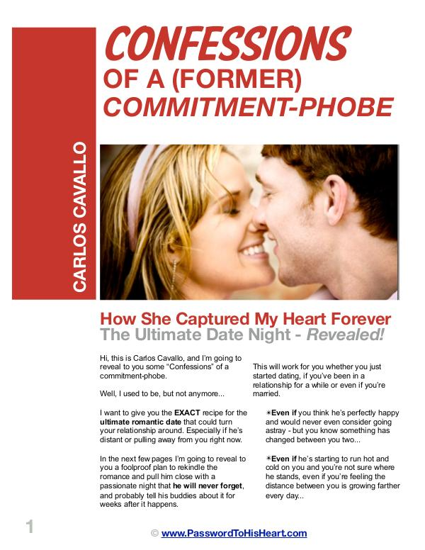 Carlos Cavallo: Forever Yours PDF / The Secret Password To His Heart Forever Yours Review Free Download