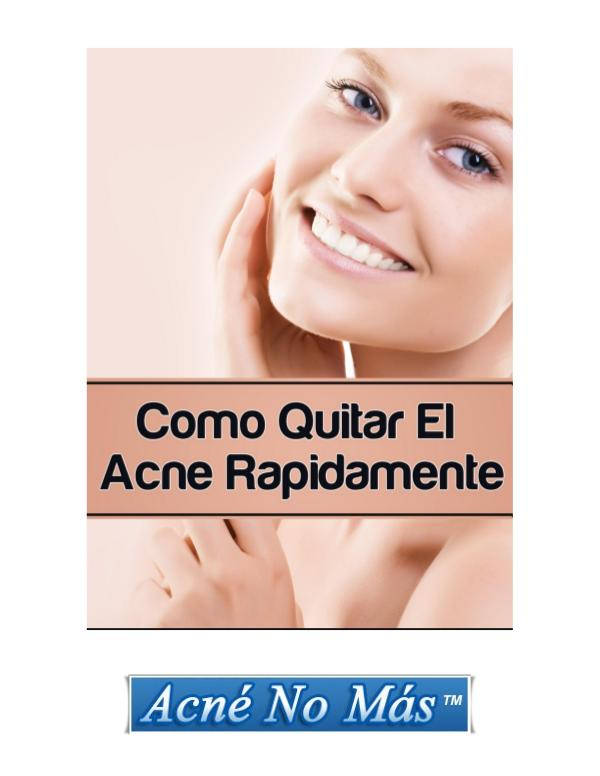 Mike Walden: Acne No Mas PDF / Libro Gratis Descargar Acne No Mas Funciona