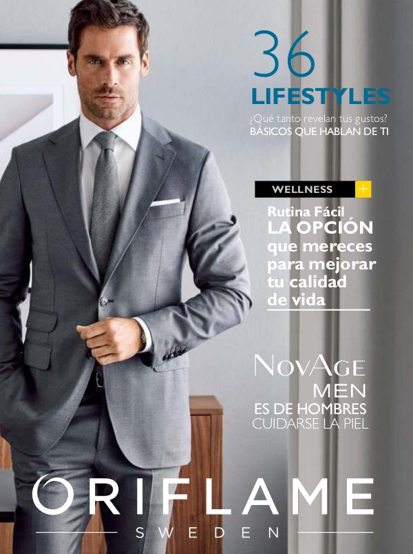 Catalogos- Otoño ORIFLAME MEN