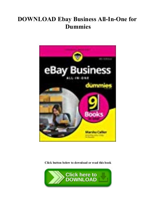 Abigail Mccarty Book Pdf Download Ebay Business All In One For Dummies Joomag Newsstand