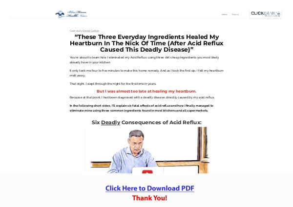 The Acid Reflux Strategy PDF Free Download
