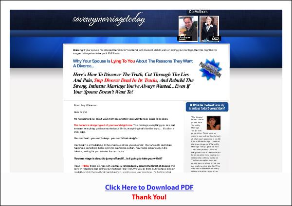 Save My Marriage Today PDF Free Download