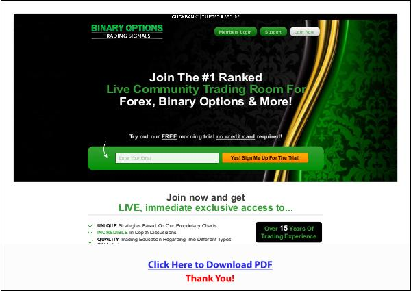 Binary Options Trading Signals PDF Free Download