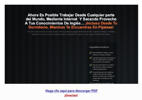 Gana Dinero En Pijamas PDF DESCARGAR COMPLETO 2020