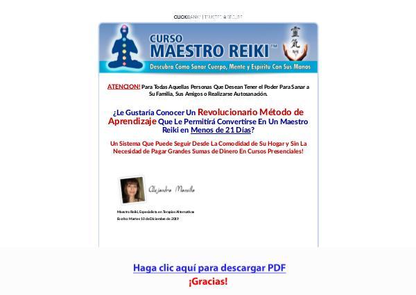 Curso Maestro Reiki PDF DESCARGAR COMPLETO 2020
