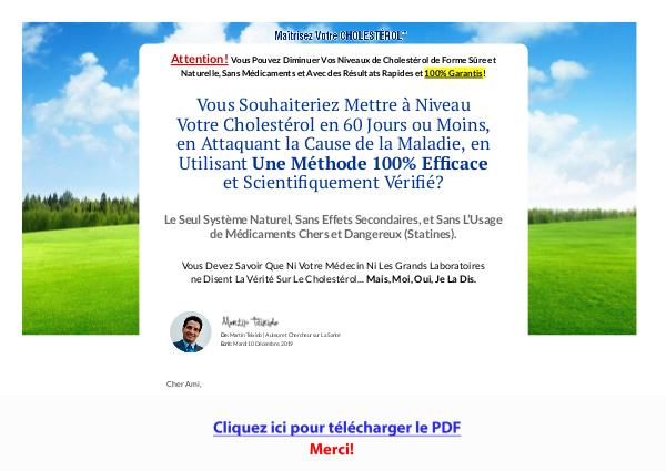 Maitrisez Votre Cholesterol PDF Free Download