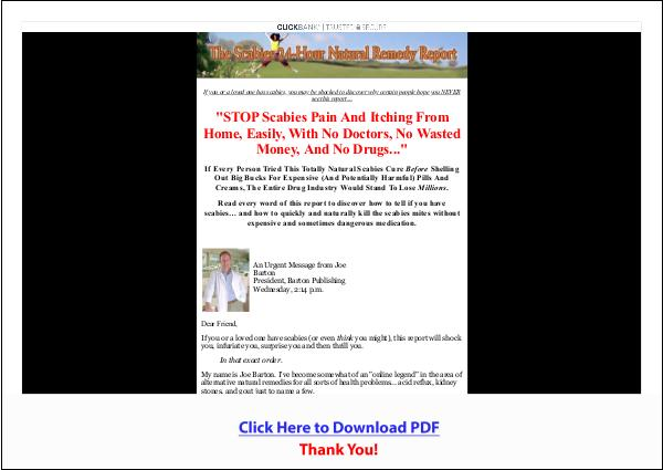 Scabies Relief In 24hrs Or Less PDF Free Download