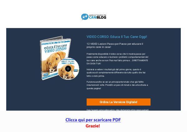 Cane Pro - Video Lezioni Per Educare Il Cane In Casa [PDF]