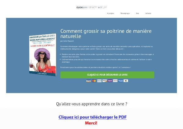 Grossir Des Seins Naturellement PDF Free Download