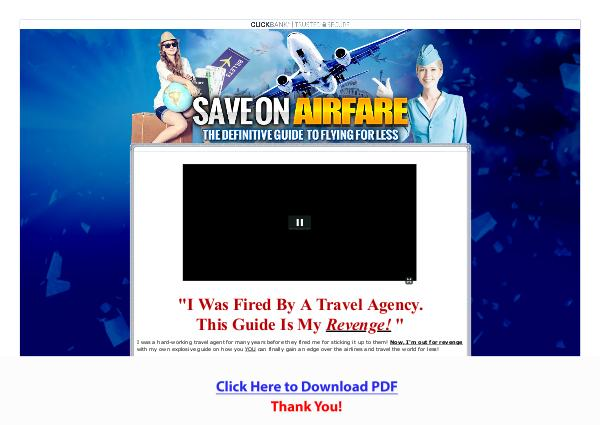 Save On Airfare: The Definitive Guide To Flying For Less [PDF]