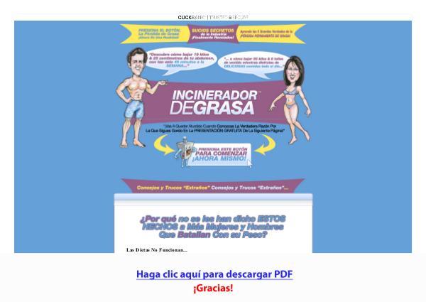 Incinerador De Grasa PDF DESCARGAR COMPLETO 2020
