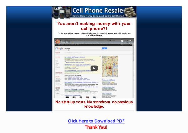 Guide To Buying & Selling Cell Phones PDF Free Download