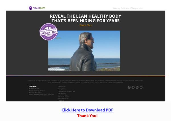 Winning The Game Of Weight Loss PDF Free Download