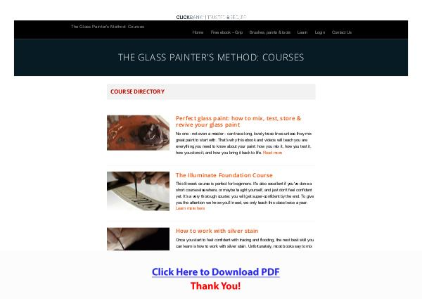 The Glass Painter's Method PDF Free Download