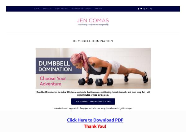 Dumbbell Domination PDF Free Download