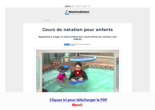 Apprenez La Natation A Votre Enfant PDF Free Download