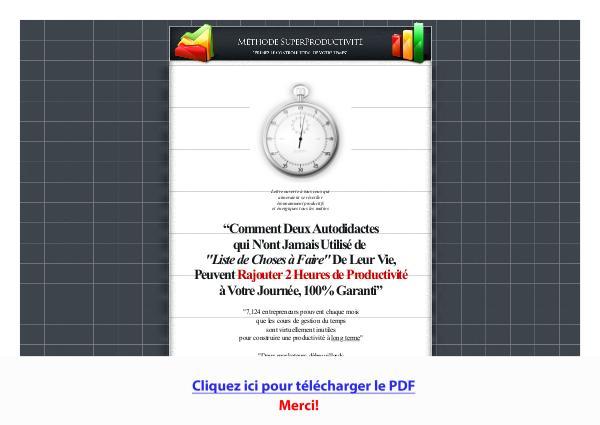 Superproductivite PDF Free Download