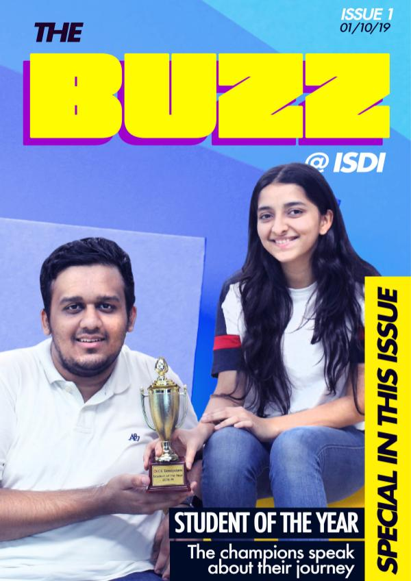 The BUZZ @ ISDI Issue 1 - September 2019