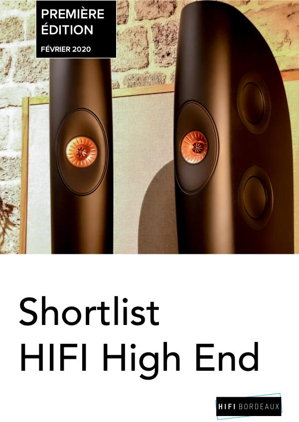HIFI High End Shortlist High End - Bordeaux