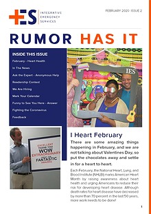 Corporate  Newsletter - Rumor Has It