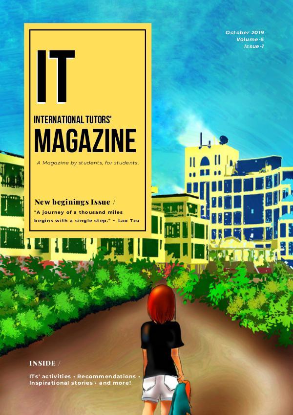 IT MAGAZINE IT MAGAZINE - OCTOBER ISSUE