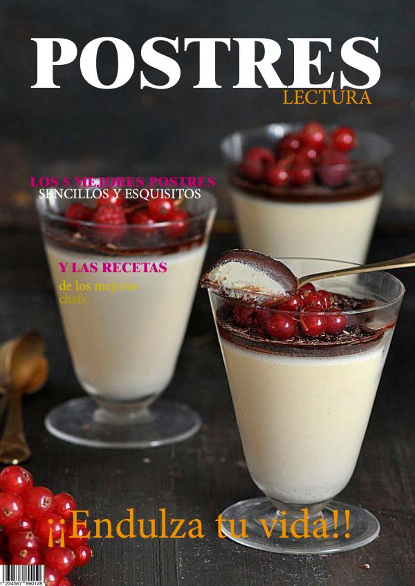 revista digital postres