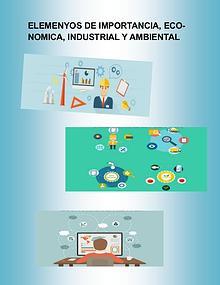 Elementos de importancia economíca, industrial, y ambiental