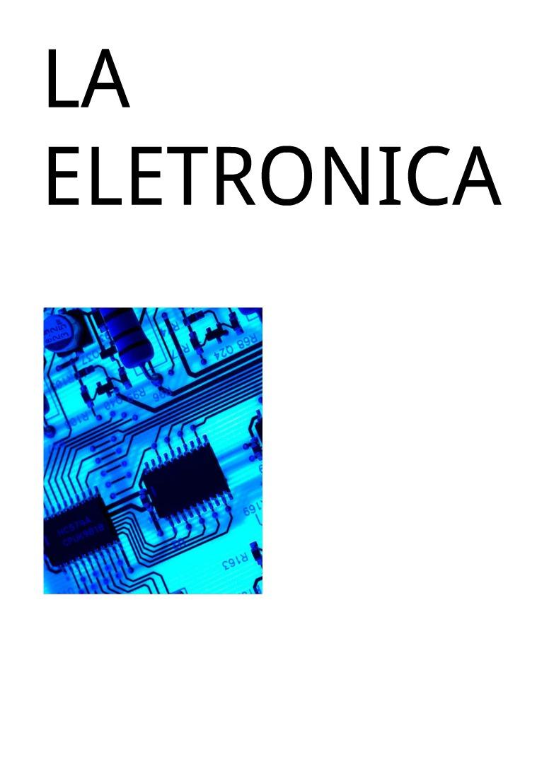 LA ELETRONICA LA ELETRONICA