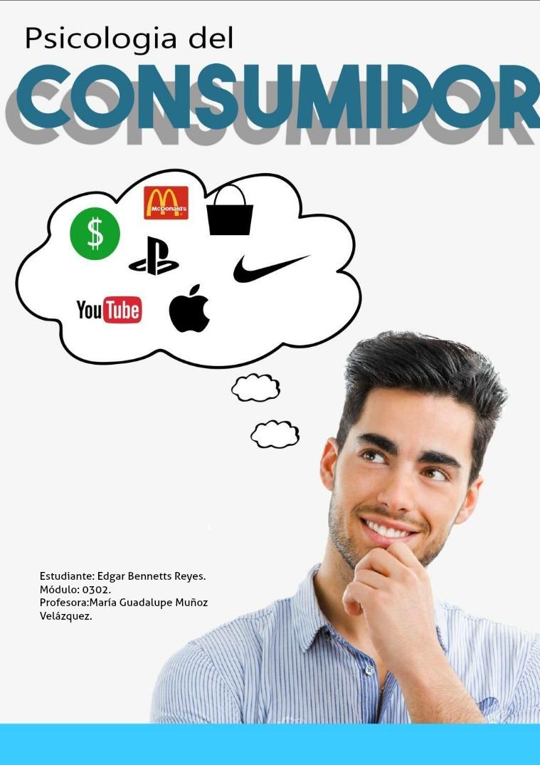 Revista. Psicología del consumidor Psicología del Consumidor.
