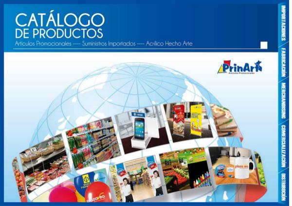 Mi primera publicacion CATALOGO PRINART OK
