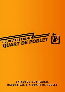 Catálogo de prendas deportivas C.A.Quart de Poblet