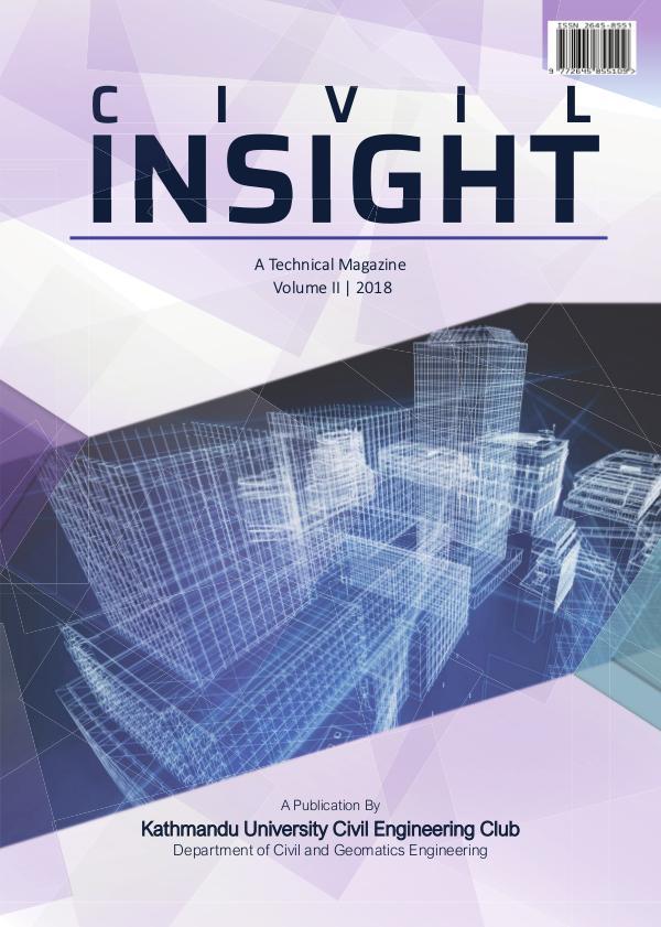 Civil Insight: A Technical Magazine Volume 2
