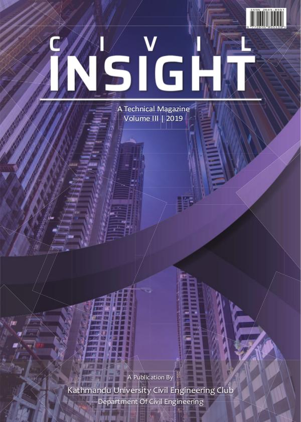 Civil Insight: A Technical Magazine Volume 3