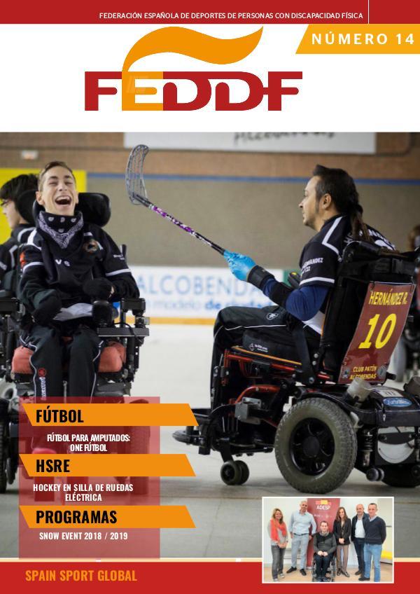 nº 1 -Boletín Oficial FEDDF 14 - BOLETÍN FEDDF Enero 2019