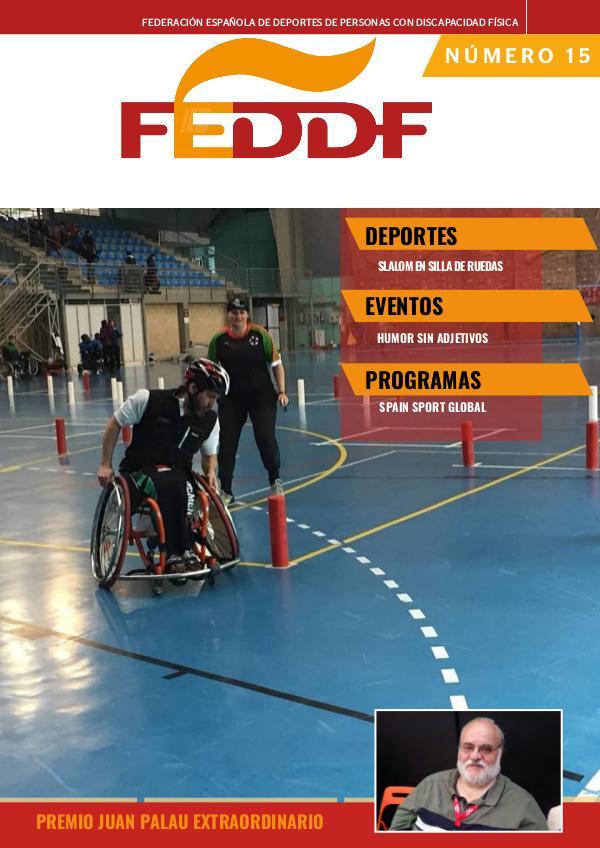 nº 1 -Boletín Oficial FEDDF 15 - BOLETÍN FEDDF Mayo 2019